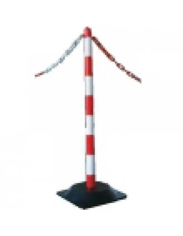 Ketting voor afzetpaaltjes rood wit per meter