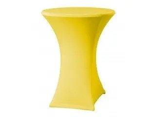 Pantyhoes voor praat statafel geel
