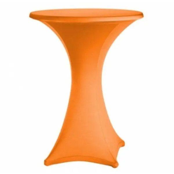 Pantyhoes voor praat statafel oranje