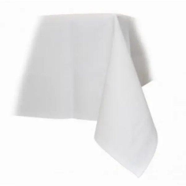 Tafellinnen 230 x 230 cm wit